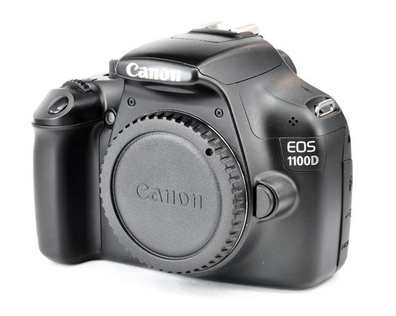 Зеркальный фотоаппарат Canon EOS 1100D Body